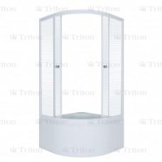 Душевой уголок Тритон Полосы Б 90 х 90