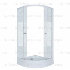 Душевой уголок Тритон Узоры А 100 х 100