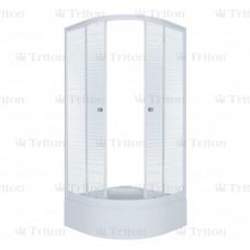 Душевой уголок Тритон Полосы В 100 х 100