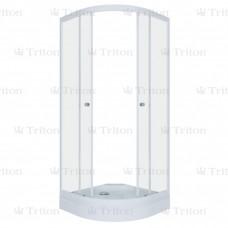 Душевой уголок Тритон Гидрус 1 90 х 90 Лен