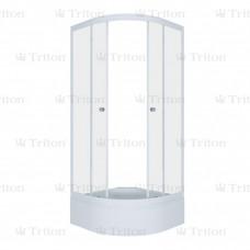 Душевой уголок Тритон РИО В  90 х 90 Лен
