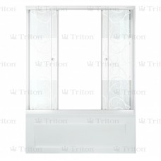 Шторка на ванну Тритон 150 -УЗОРЫ