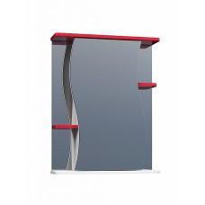 Шкаф зеркальный Alessandro 3 - 550 красный