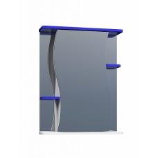 Шкаф зеркальный Alessandro 3 - 550 синий