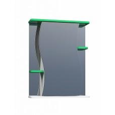 Шкаф зеркальный Alessandro 3 - 550 зеленый