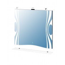 Зеркало Leo 800 со светильником