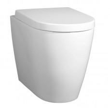 Унитаз  приставной с сиденьем безободковый BelBagno MARINO BB105CBR